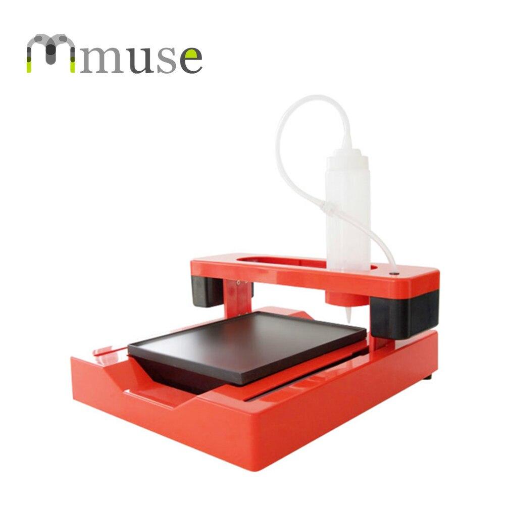 Imprimante 3D de nourriture de contrôle de tampon, Machine d'impression 3D de crêpe de grande taille