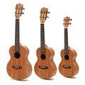 Enya 21 23 26 pulgadas pensión completa HPL Koa Ukulele clásico cabeza sin Pickup instrumentos Ukulele de mini Guitarra