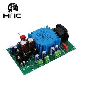 Image 2 - Dual Voltage Regulator Adjust Power Supply Board For Preamp DAC AMP Microphone 220V Input Dual 15V Can Adjust +5V+48V Output