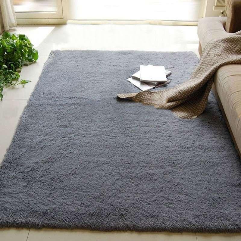 Aliexpress.com : Buy 80x120cm Long Fluffy Anti skid Floor Mat Shag ...