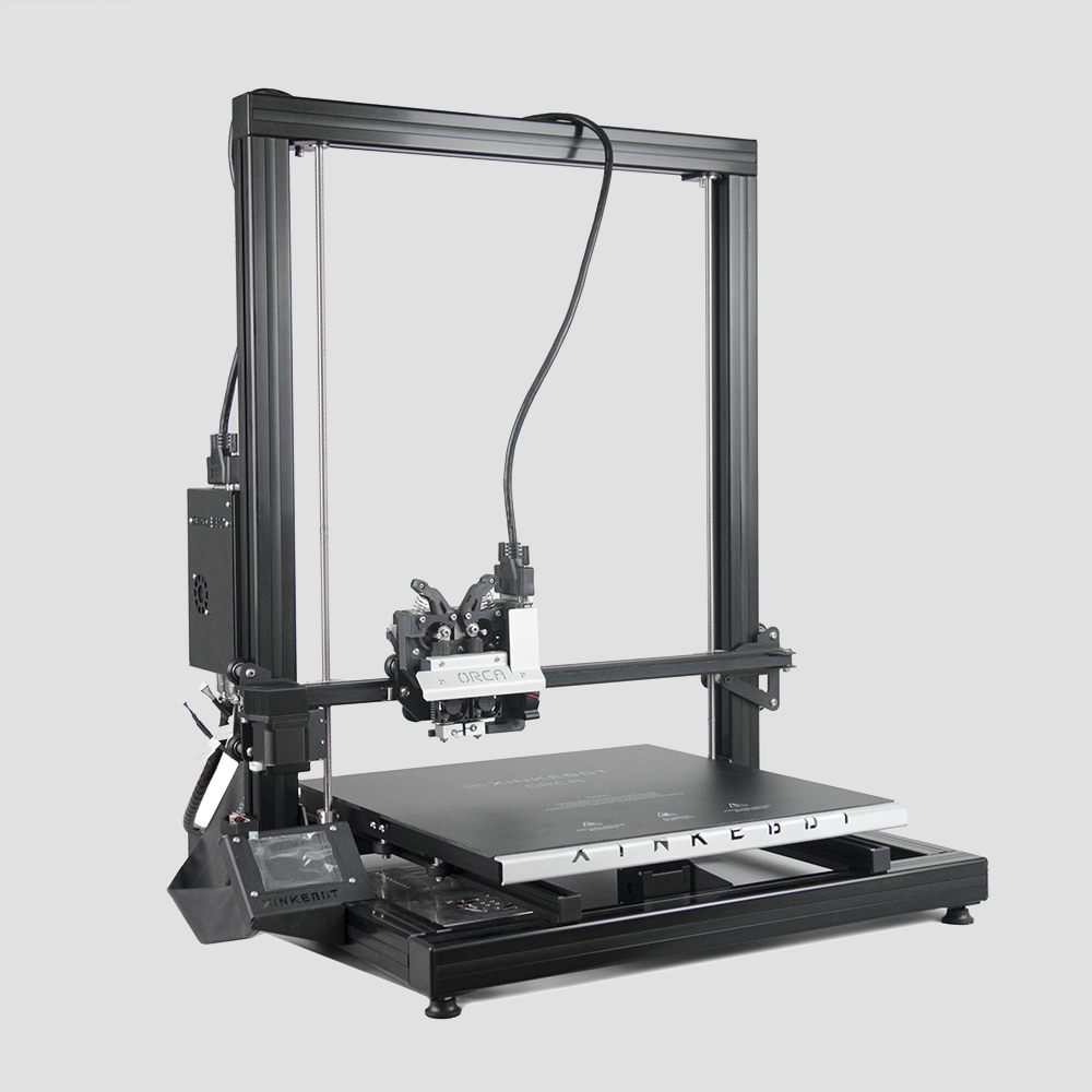 Xinkebot Orca 2 Cygnus Grande 3D Stampante di Grande Area di Stampa 400x400x500mm 0.05mm Risoluzione Dual testa LCD Touch Sreen