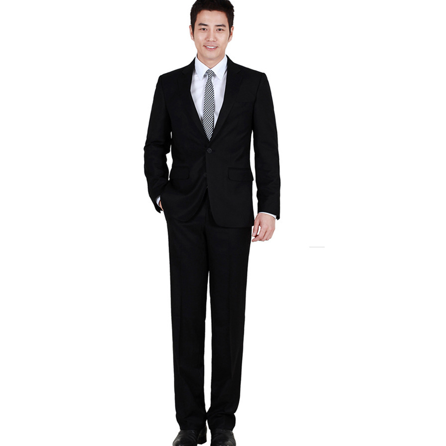 popular mens blazers full sleeve slim business suits