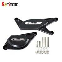 KEMiMOTO Engine Guard Stator Cover Slider Protector For SUZUKI GSR750 GSR 750 2012 2014 GSR400 GSR600