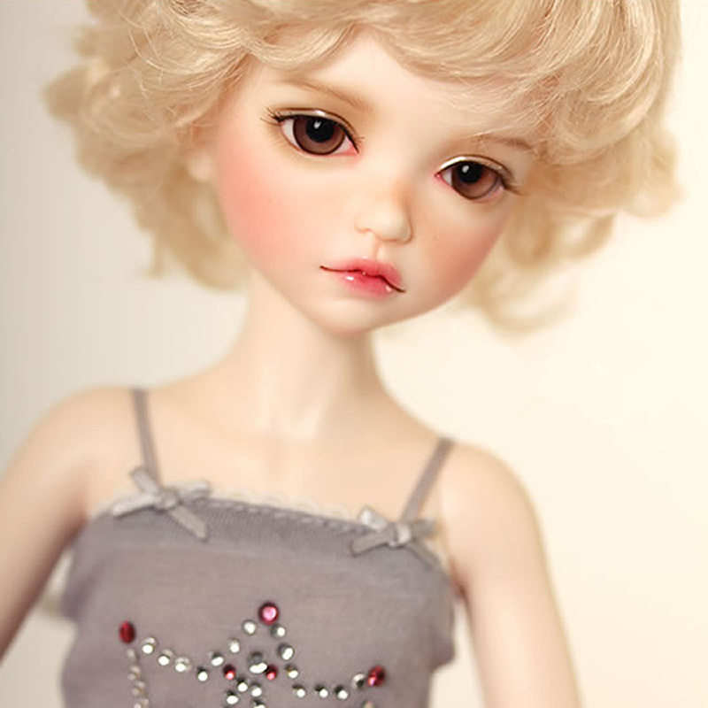 Free Shipping 1/6 BJD Doll BJD/SD Fashion LOVELY Boryes Doll With Make Up For Baby Girl Gift uncle 1 3 1 4 1 6 doll accessories for bjd sd bjd eyelashes for doll 1 pair tx 03