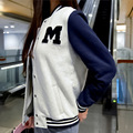 In the autumn of 2016 new Korean women jacket lady baseball uniform size coat sweater wholesale long