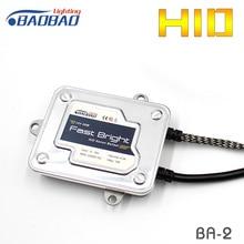 HUJO 55W BA-2 Ultra Fast Bright Car HID Ballast Xenon headlight, car styling full digital Car HID xenon Ballast,waterproof
