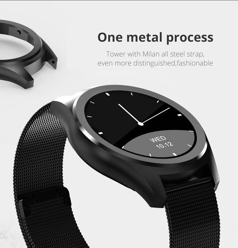 Diggro DI03 Smart Watch MTK2502C IP67 Waterproof Heart Rate Monitor Remote Control Camera Message Push Smartwatch IOS Android 9