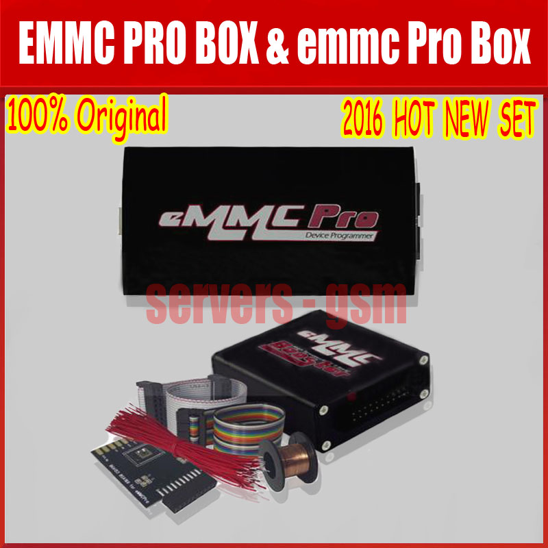 2018 Hot Newest 100% Original Emmc Pro Box & EMMC PRO BOX Edition With EMMC Booster Tool Free Shipping