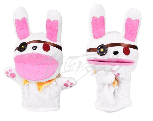 Дата живой Yoshino кукла в виде кролика косплей реквизит перчатка
