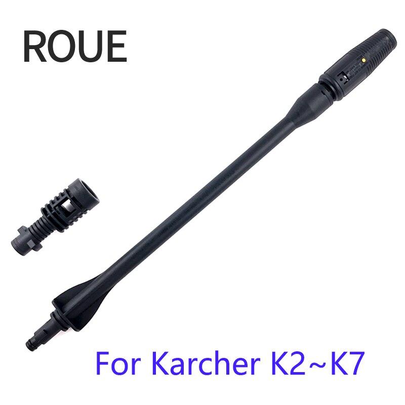 Boquilla DE lanza a chorro ROUE para Karcher K1 K2 K3 K4 K5 K6 K7 arandelas de alta presión 8000LM más faro xhp70/xhp50.2 de alta potencia led linterna de cabeza USB faro 18650 al aire libre impermeable de la luz con energía móvil