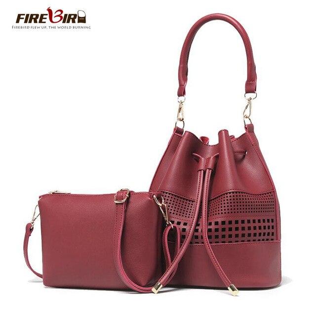 533110606e Luxury handbags women bags designer Bucket ladies Tote bag Hollow Out  female Messenger Purse Shoulder Bags FN335