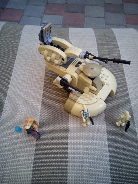 mylb 251pcs STAR WARS AAT tanks Building Blocks Vulture robot  kids Educational Bricks Toys Compatible with Legeod