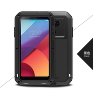 Waterproof case For LG G6 Original Love Mei Metal Aluminum Powerful Cover Case For LG G5 G 6 Fundas + Gorilla Glass