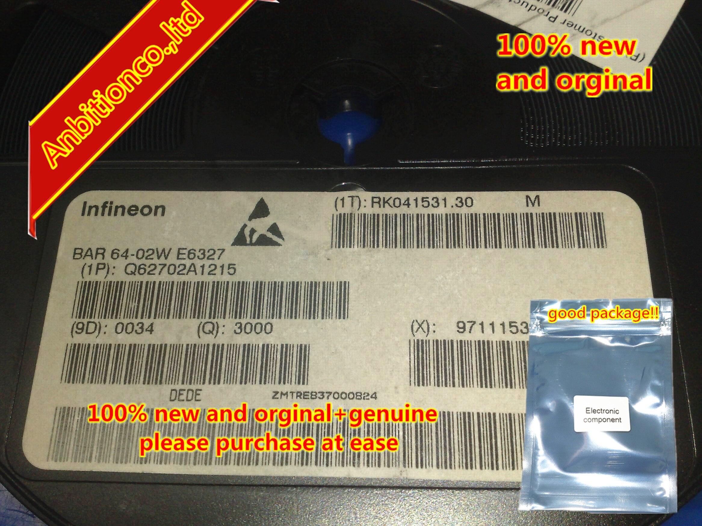 50pcs 100% New And Orginal BAR64-02W SOD-523 In Stock