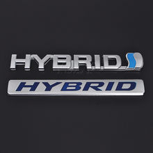 Fashion Metal Car Sticker Emblem Reing Badge Decal For Hybrid Toyota Camry Rav4 Reiz Lexus Bmw Audi Honda Auto Styling