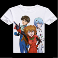 2016digital printed hot anime EVA Neon Genesis Evangelion T-shirt Fancy shirt fashion short-sleeve T-shirt Ayanami Rei tshirt