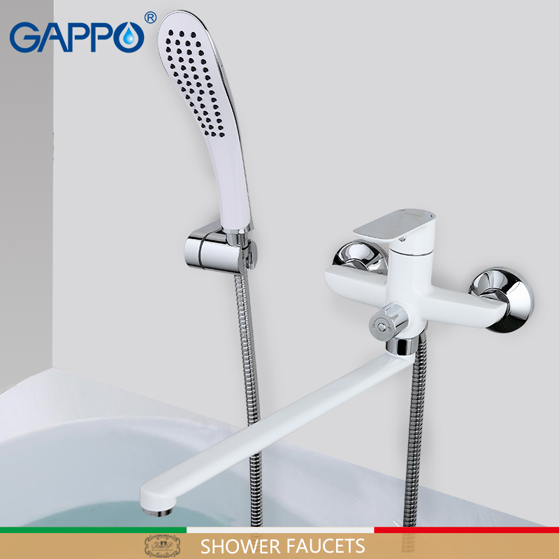 GAPPO shower faucet bathroom faucet rotatable shower mixer basin sink faucets deck mounted rainfall Bathroom taps               GAPPO shower faucet bathroom faucet rotatable shower mixer basin sink faucets deck mounted rainfall Bathroom taps