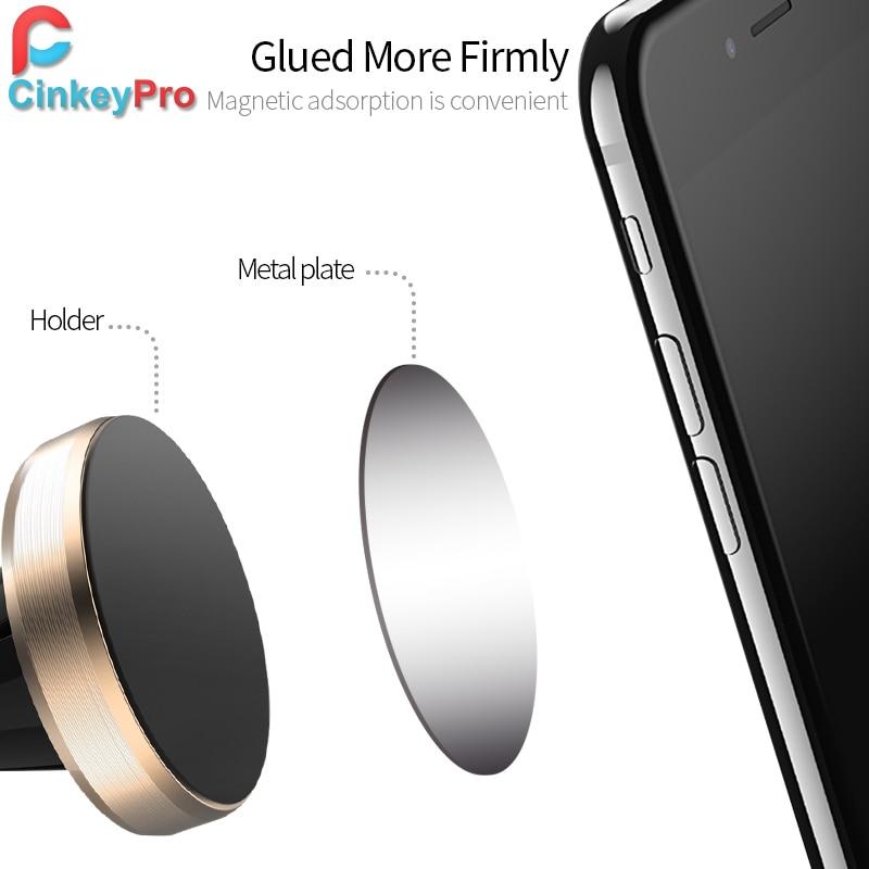CinkeyPro magnetisk bilhållare för iPhone Samung mobiltelefon - Reservdelar och tillbehör för mobiltelefoner - Foto 3