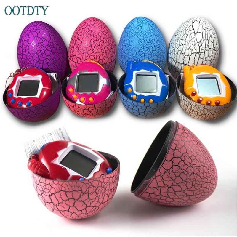 Hot Cartoon Electronic Pet Mini Hand-hold Digital Virtual Game Machine Kids Toys Egg #330