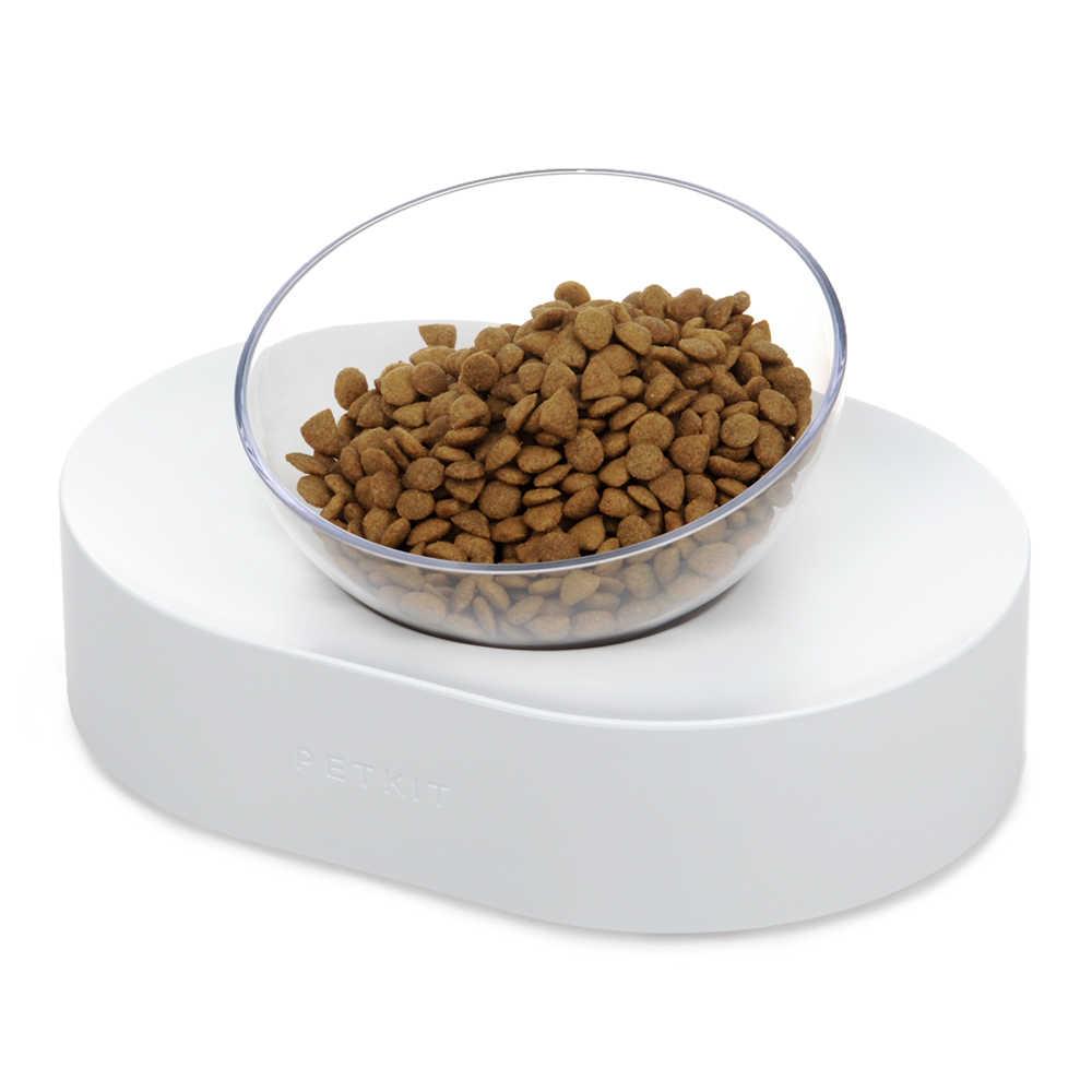 Hoopet Cat ชามหนึ่ง DUAL PORT สุนัข Dispenser Feeder เครื่องชามแมวแมวดื่มน้ำพุอาหารจานชามสัตว์เลี้ยงสินค้า