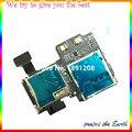 10 unids/lote Original Micro SD Bandeja de Tarjeta SIM Sostenedor de la Ranura Flex ranura sim flex Cable Para Samsung Galaxy S4 i9500 i9505 cable