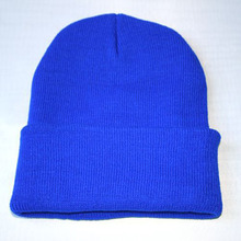 2016 Explosion Models New Fashion Candy Color Woman's Warm Woolen Winter Hats Knitted Fluo Hats for Men Gorro Beanie