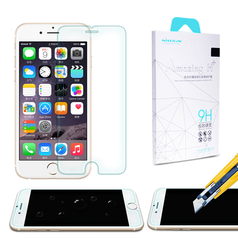 For Apple iPhone 6 /6s 6 s 4.7 inch NILLKIN Anti-Explosion 9H Hardness 2.5D Rounded Edges Tempered Glass Screen Film Protective