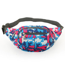 Oxford Fabric Camouflage running Bag Men Sport Single Shoulder Strap Multi Color WaterProof Chest Men