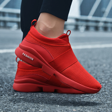 Купить с кэшбэком Spring/Autumn New Models Men Shoes 2018 Fashion Comfortable Youth Casual Shoes for Male Soft Mesh Design Lazy Shoes Large Size46