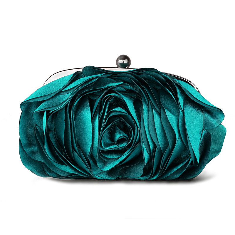 $12.99 Hot 2015 Evening Bag Flower Bride Bag Purse , full dress Party handbag Wedding Clutch Women Evening Purse Lady Gift