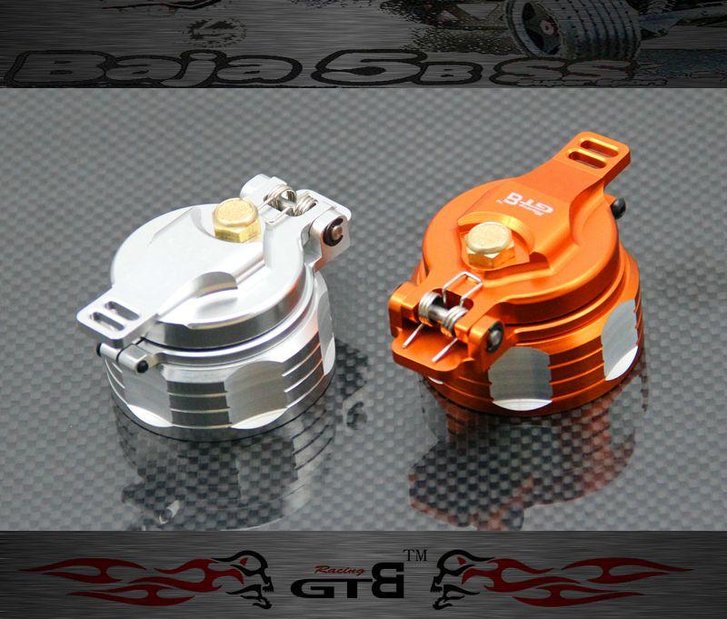 GTBRacing Fuel tank cap for HPI BAJA 5B 5T ROVAN KING MOTOR cnc fuel tank cnc fuel cap for baja 5b 5t 5sc 85214 free shipping