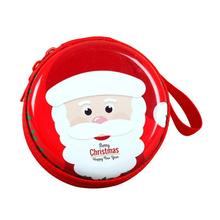 Christmas Mini Tin Box Sealed Jar Packing Boxes Xmas Candy Box Small Storage Cans Coin Earrings Headphones Gift Box