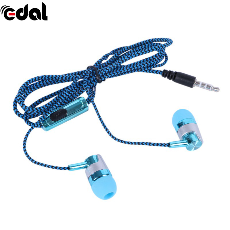 Fashion 3.5mm Earbud Earphone Single Channel Headset for Mobile Phones Tablets