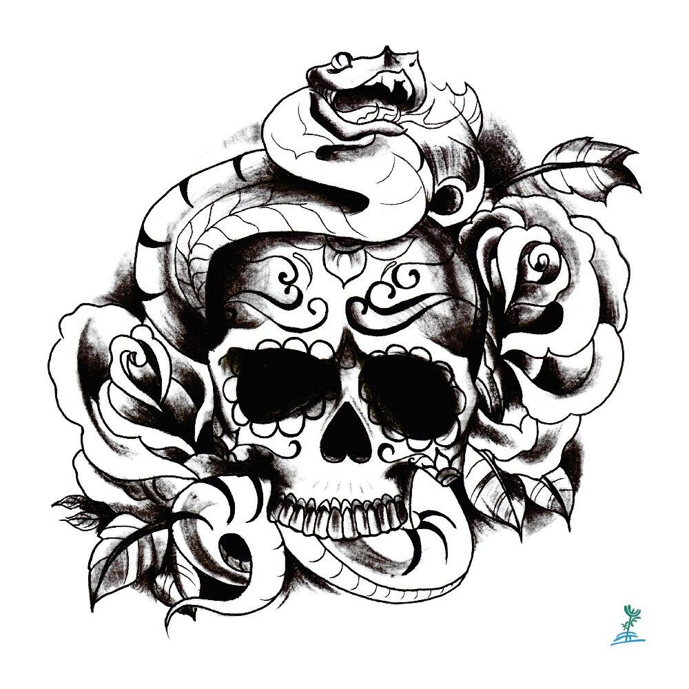 Yeeech tatuajes temporales pegatina para hombres mujeres