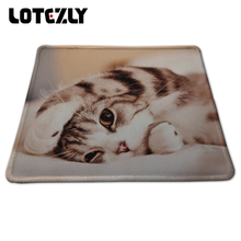 New Funny Cute Cat Picture Anti-Slip Laptop PC Gaming Mice Play Mat Mousepad For Optical Laser Mouse Pan Wholesale And Retail