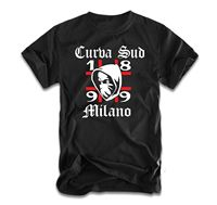 Curva Sud Milano T Shirt Ultras MIlan Newest Top Tees,Fashion Style Men Tee 2019 fashion t shirt,100% cotton tee shirt