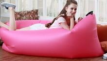Portable air sofa. Lazy sofa. Single inflatable sofa bed.