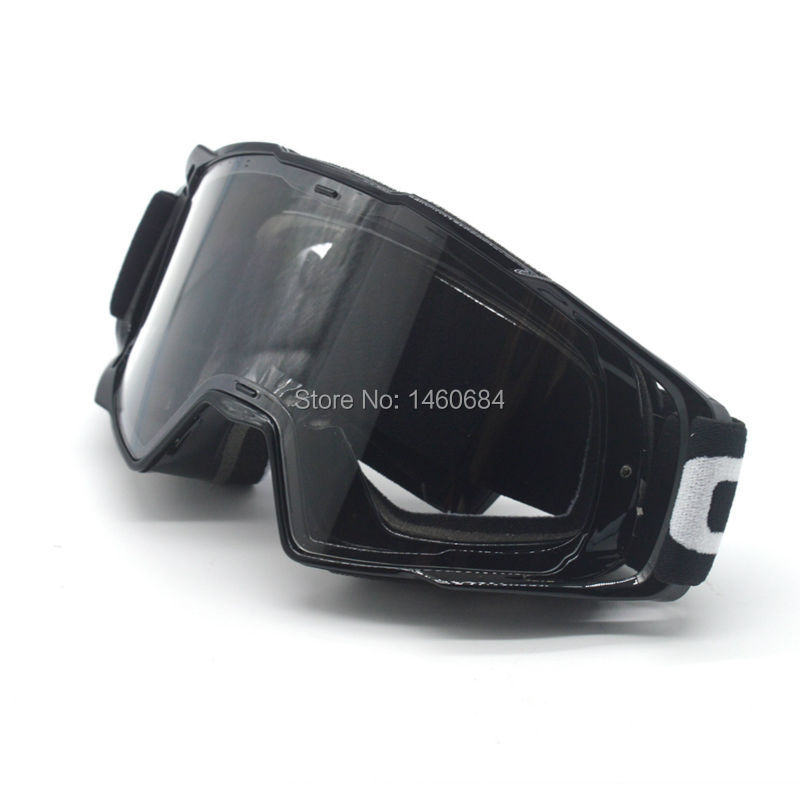 Motorcycle Transparent Glasses OCULOS DE MOTOCROSS Capacete Moto mx Goggles fit for Cross Helmet Google Clear Lens
