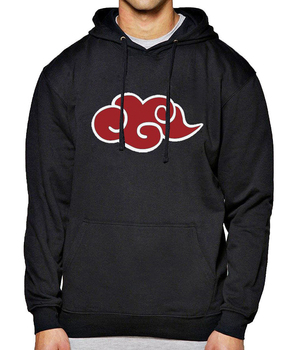 Japan Anime Red Cloud Hoody Sweatshirt Men's Sportswear