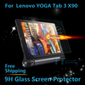 Yoga Tab 3 10.1 Pro X90 Glass Protector For Lenovo YOGA Tab3 10 PRO Glass Screen Protector + free touch pen