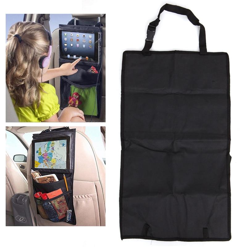 2017 Car Seat Back Storage Children Travel Essential Ipad Tablet Kick Mat APR11_30