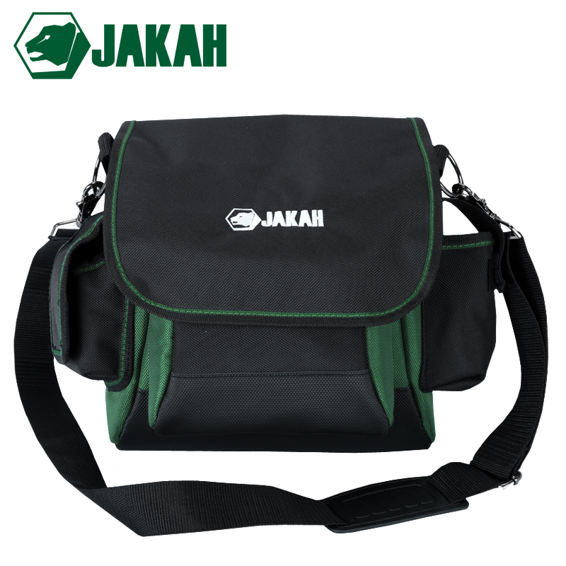 JAKAH Wholesale Thicken Oxford Canvas Multifunction Tool Pouch Bag Shoulder Strap Tool Bag Backpack Free Shipping