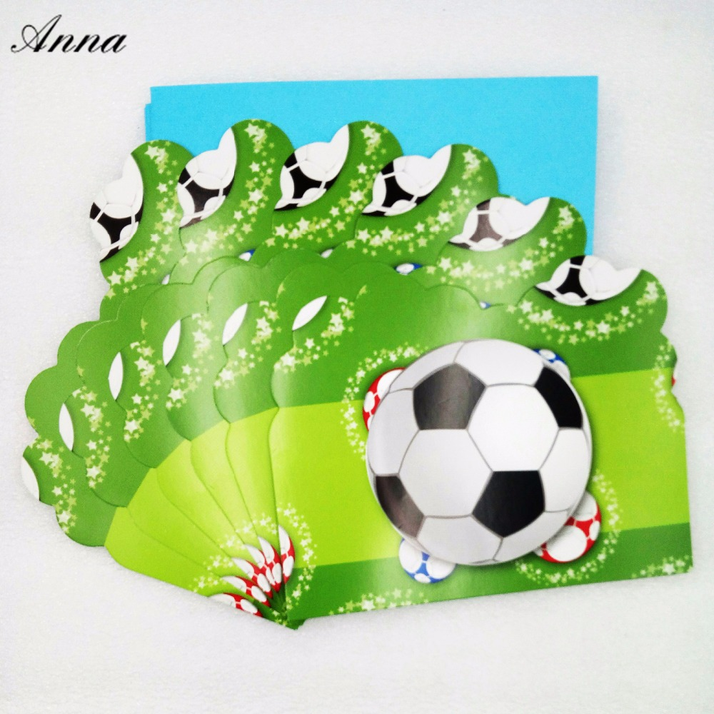paper product hats decor caps decoration favors kids vintage for birthday football party theme supplies set decorations children boy soccer bag unusual