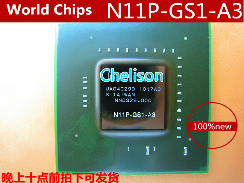 N11P-GS1-A3  100% NEW Original BGA Chipset With Balls IC chips freeshipping 100% new intel 82801hbm ic chipset with bga stencil 90mm nh82801hbm