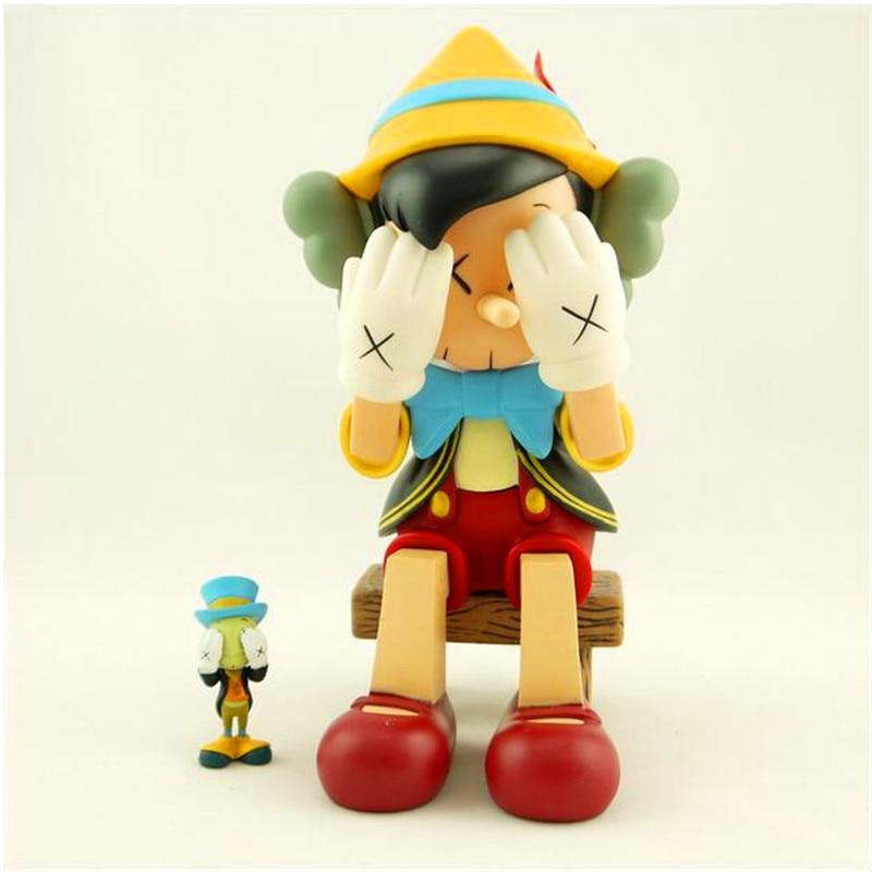 74106ad1 Hot Sell OriginaFake Kaws Companion Pinocchio&Jiminy Cricket Stand ...