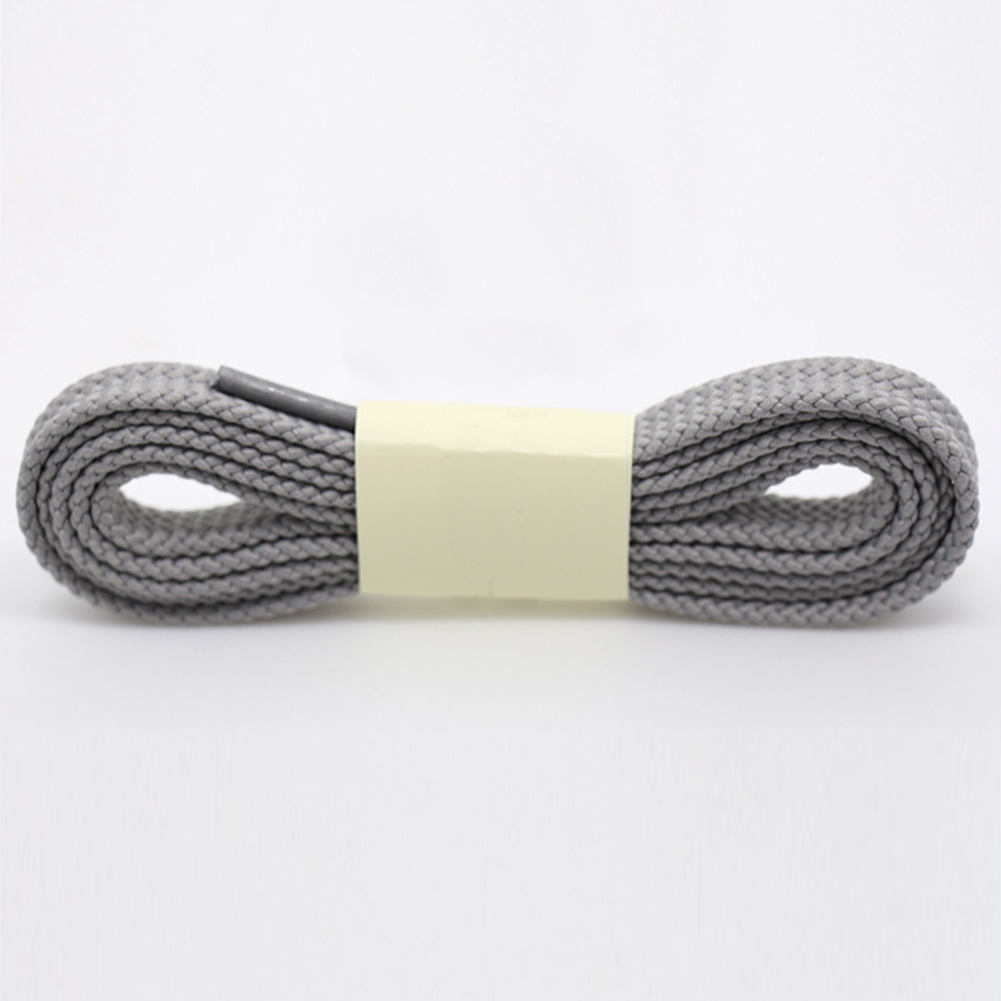 1 Pair 100cm Polyester Thick Flat Shoelaces Unisex Women Man 11 Colors Wide Sports Casual Shoe Lace