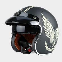 TORC T57 open face helmet Vintage motorcycle helmet Retro 3/