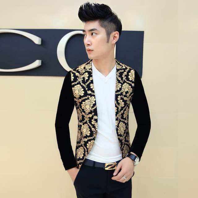 Black and Gold Suits for Men_Other dresses_dressesss