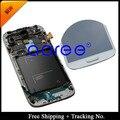 Для 100% Тест Super AMOLED Для Samsung Galaxy S4 ЖК i9500 I9505 ЖК-Дисплей с сенсорным Экраном Дигитайзер Ассамблеи с рамкой