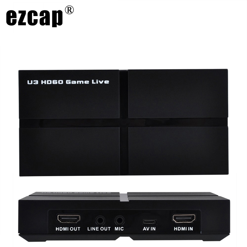 USB 3 0 1080P HDMI Game Video Capture Card Recording Two Computer Live Video Streaming YPBPR